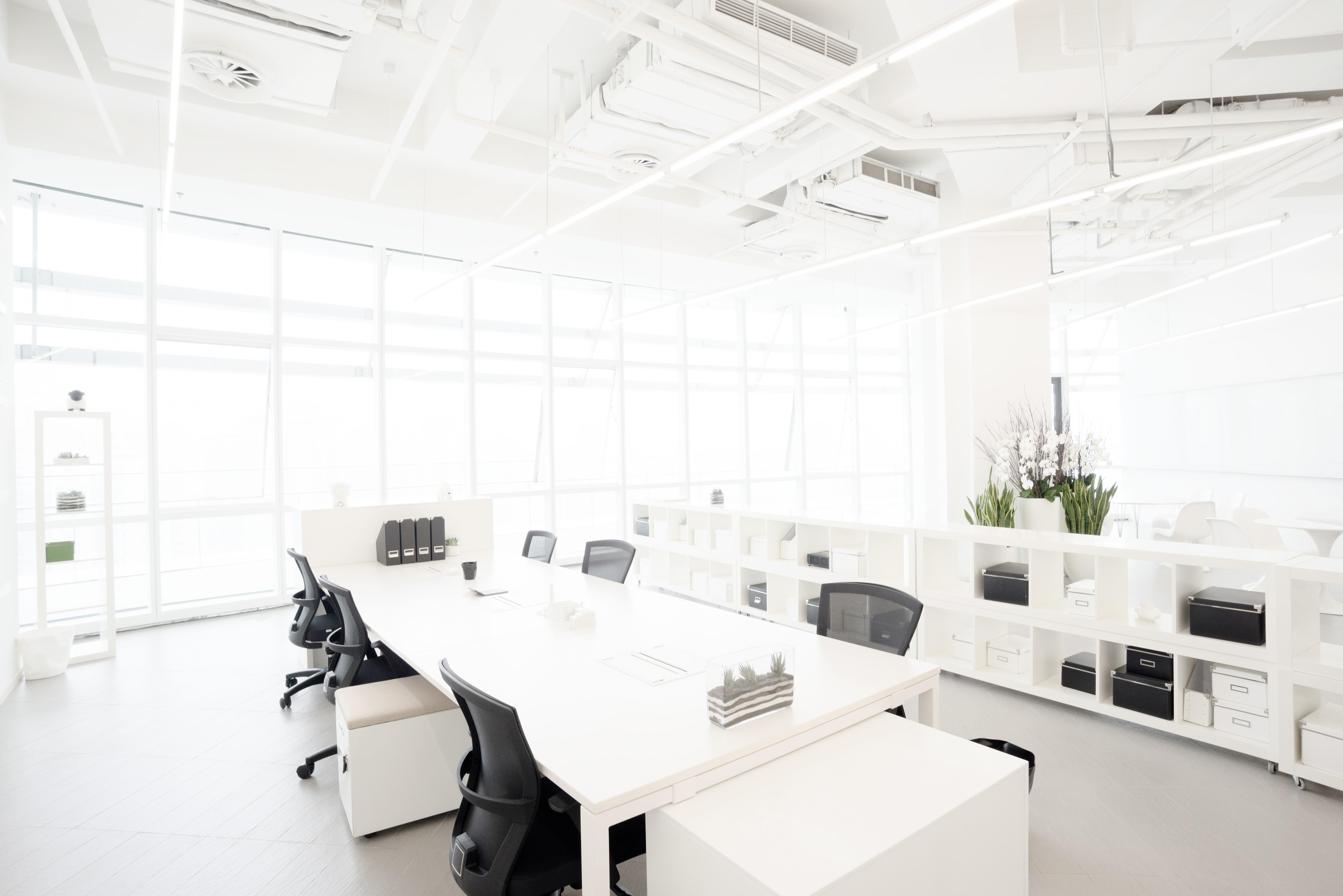 cafe uygulama beyaz ofis
