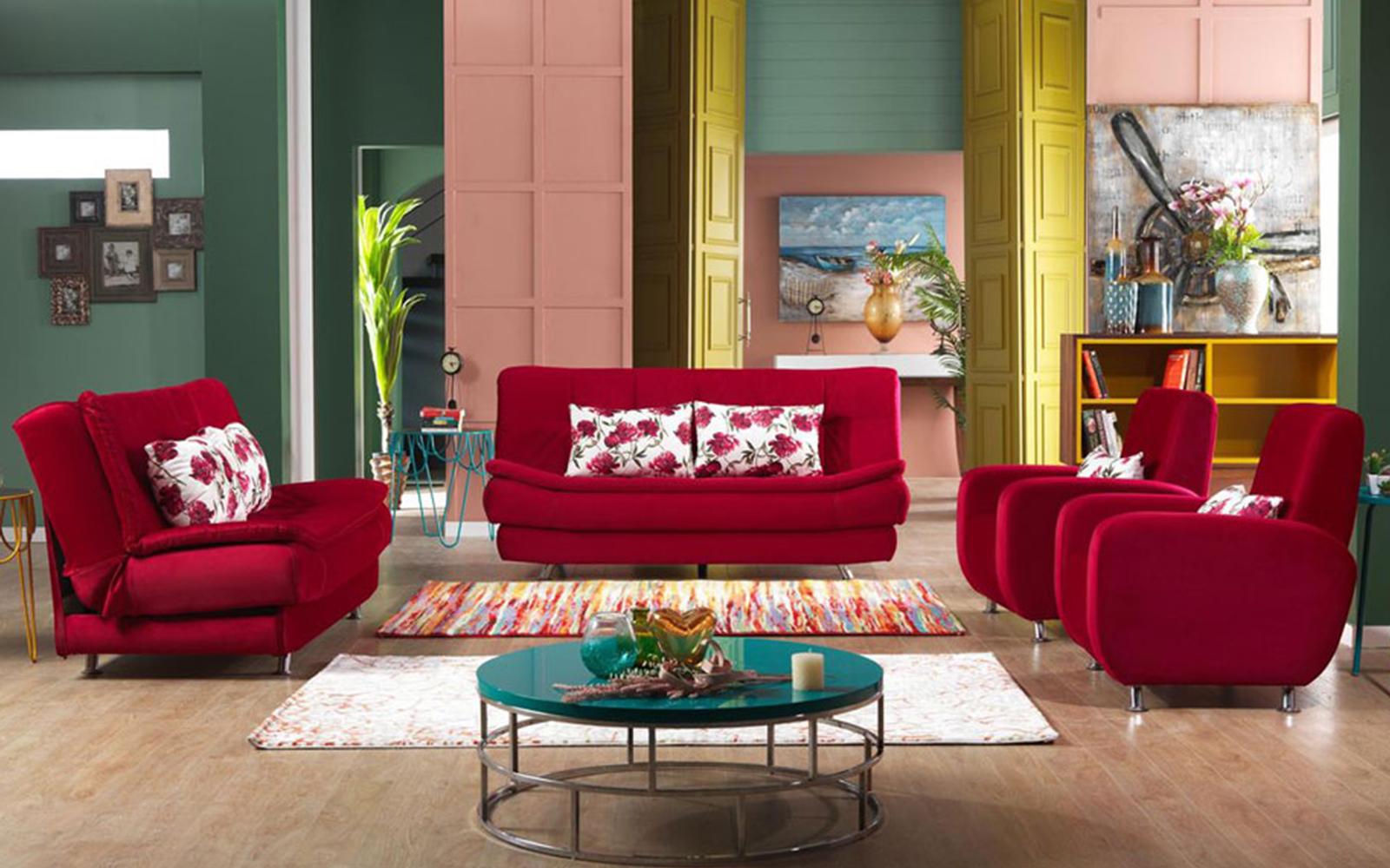 salon ve oturma odasi tasarim fikirleri